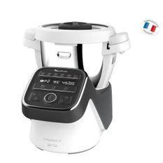 MOULINEX Robot cuiseur - Companion XL - HF80C800 - Noir