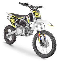 Moto cross MX 140cc vert 17/14 pouces moteur YX