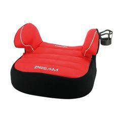 Nania Siege auto rehausseur bas DREAM groupe 2/3 (15-36kg) + porte-gobelet - Rouge luxe