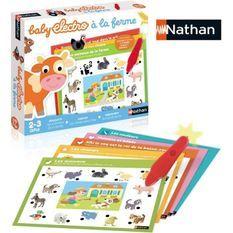 Nathan Baby Electro - Animaux de la ferme, jeu éléctronique