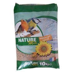 Nature Mix Mélange de graines - Pour oiseau de la nature - 10kg