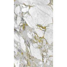 NAZAR Tapis de salon Marble - 120 x 170 cm - Or