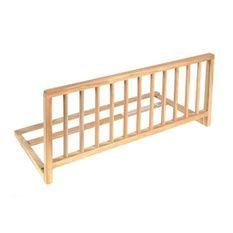 NIDALYS -Barriere de lit bois naturel 90 cm - Norme BS