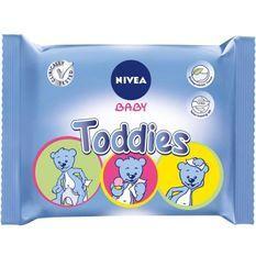 NIVEA BABY Lingettes multi-usages Toddies 60 pieces