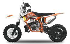 NRG KTM 50cc orange 14/12 pouces 9cv automatique freins hydrauliques