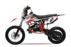 NRG Racing 50cc rouge 14/12 pouces 9cv automatique