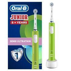 Oral-B Junior 6+ Brosse a dents électrique rechargeable - Vert
