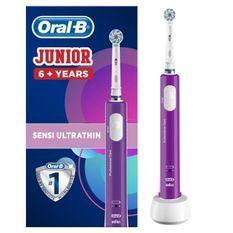 Oral-B Junior 6+ Brosse a dents électrique rechargeable - Violet
