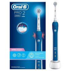 Oral-B Pro2 2000 Brosse a Dents Électrique - aide a brosser les dents pendant 2minutes
