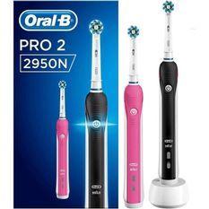 ORAL B PRO 2950 noir et rose