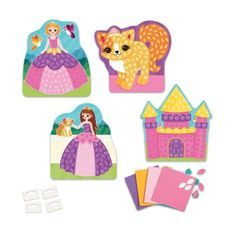 ORB Mes Premieres Mosaiques Autocollantes Princesse
