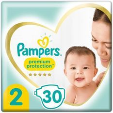 PAMPERS 30Couches Premium Protection Taille2
