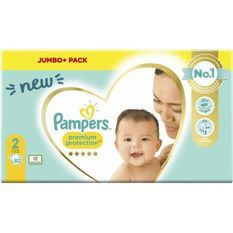 PAMPERS 82Couches Premium Protection Taille2