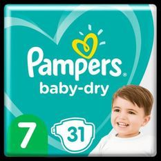 Pampers Baby-Dry Taille7, 31Couches