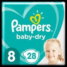 Pampers Baby-Dry Taille8, 28Couches
