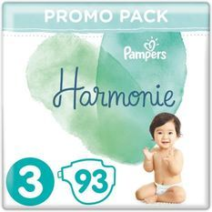 Pampers Harmonie Taille 3, 93 Couches