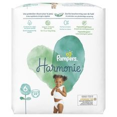 PAMPERS Harmonie Taille 6 - 22 couches