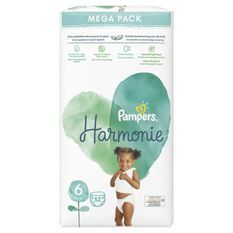 PAMPERS Harmonie Taille 6 - 52 couches