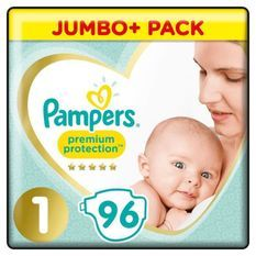 PAMPERS Premium Protection Taille1 - 96couches