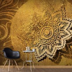 Papier peint Golden Illumination