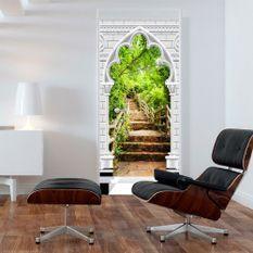 Papier-peint pour porte Photo wallpaper Gothic arch and stone staircase I