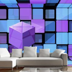 Papier peint Rubik's cube: variation