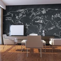 Papier peint Small travel. Large travel (Italian language)