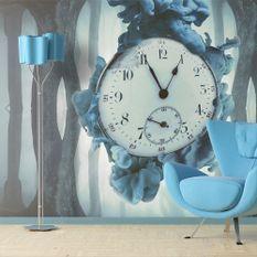 Papier peint Surrealism of time