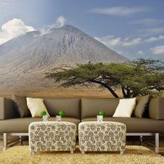Papier peint Volcan d'Afrique, Ol Doinyo Lengaï en Tanzanie