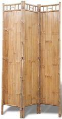 Paravent décoratif 3 volets bambou Kyca