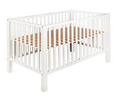 Parc bébé hêtre massif taupe Marianne 85x153 cm
