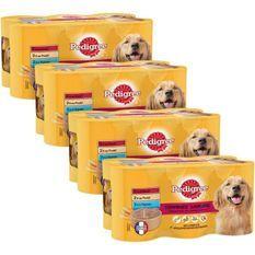PEDIGREE Boîtes en terrine 3 variétés - Pour chien - 6x 410 g (x4)