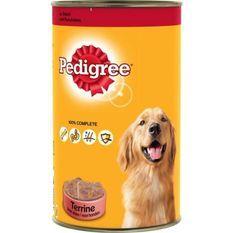 PEDIGREE -Pâté au boeuf pour chien adulte - Pour les chiens - 1,25kg