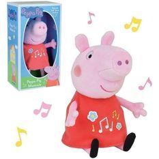 PEPPA PIG Peluche musicale ± 20 cm
