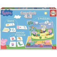 PEPPA PIG Superpack Jeux éducatifs