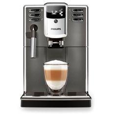 PHILIPS EP5314/10 Machine a café Espresso Automatique - Broyeur céramique - Mousseur a lait classique - Ecran LCD - Gris Anthracite