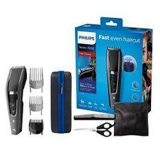 PHILIPS HC7650/15 - Rasoir/Tondeuse Cheveux et Barbe Series 7000 avec Housse de Voyage et Kit Barber