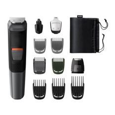 PHILIPS MG5730/15 Tondeuse Barbe / Cheveux : 11 en 1 - tondeuse nez, oreilles, corps - Lames DualCut - Etanche - Autonomie 80 min
