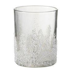 Photophore verre transparent Licia H 13 cm