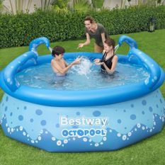 Piscine ronde gonflable Easy 274x76cm