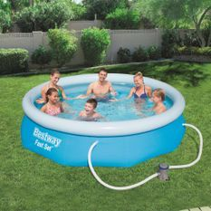 Piscine ronde gonflable Fast 366x76cm