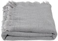 Plaid tissu gris