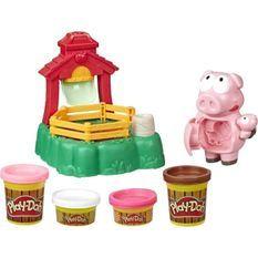 Play-Doh Animal Crew – Pate A Modeler – Les Cochons Farceurs