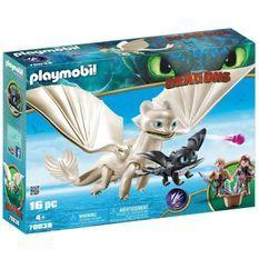 PLAYMOBIL 70038 - Dragons 3 - Furie Éclair et bébé dragon avec enfants