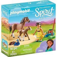 PLAYMOBIL 70122 - Spirit - Apo avec cheval et poulain - Nouveauté 2019