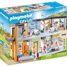 PLAYMOBIL 70190 - City Life - Hôpital aménagé - Nouveauté 2020