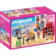 PLAYMOBIL 70206 - Dollhouse La Maison Traditionnelle - Cuisine familiale - Nouveauté 2020