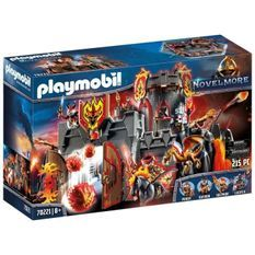 Playmobil 70221- Novelmore - Forteresse volcanique des chevaliers Burnham Raiders