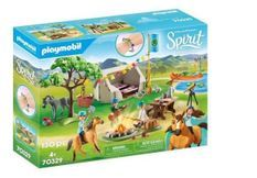 PLAYMOBIL 70329 - Spirit - Camp de vacances - Nouveauté 2020