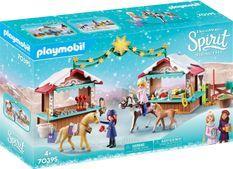PLAYMOBIL 70395 - Spirit - Marché de Noël a Miradero - Nouveauté 2020